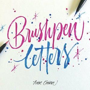 Brushpen Letters – Caligrafía con Pincel