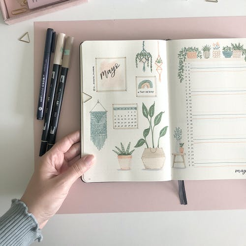 Plan with me – Bullet Journal.